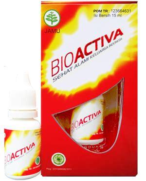 Obat Herbal Bioactiva bio activa sehat alami keluarga indonesia jamu tetes