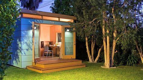modern shed taj   backyard art studio  vimeo