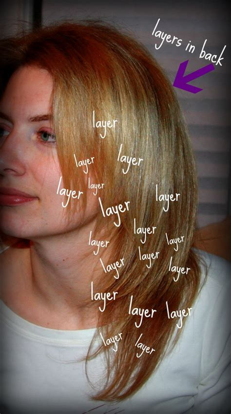 how to style bad layers bad layered haircut