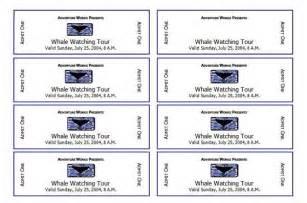 sle ticket template for events mod 232 les de billets d 233 v 233 nements mod 232 les microsoft word