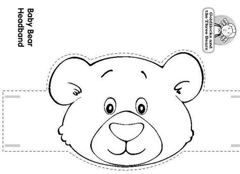 best photos of bear ears headband template teddy bear