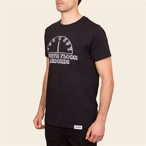 Fourth Floor Records by 4 To The Floor Fourth Floor Records Mens T Shirt Black