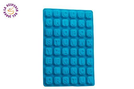 molde de silicon con letras en cuadritos moldes de silicon monterrey alphabet silicone mold la despensa del jab 243 n