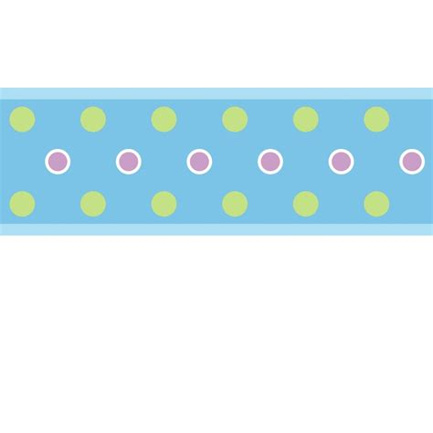 wall borders stickers dot wall sticker border blue stickers for wall