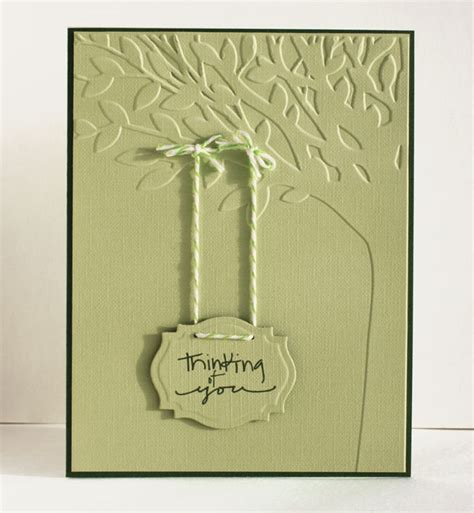 embossing card embossing clever someday