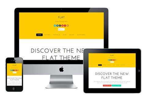 wordpress themes free responsive flat design flat wordpress theme like ios7 design html5 css3 drag