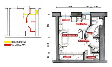 appartamento 25 mq monolocale di 25 mq con soluzioni salvaspazio cose di casa