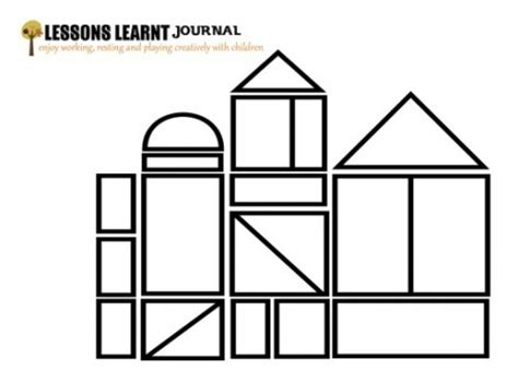 free coloring pages of with building blocks