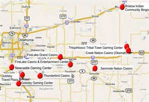 centrl oklahoma indian casinos