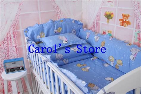 Newborn 10pcs Baby Cot Bed Set Designer Comforters And Colorful Baby Bedding Sets