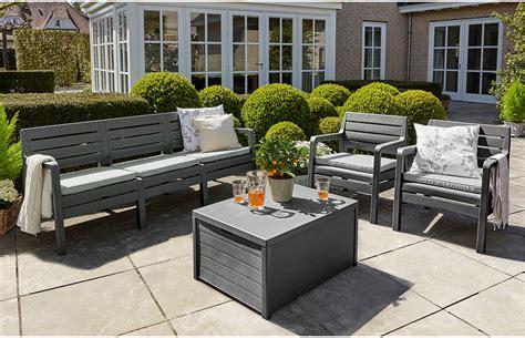 lounge set garten grey garden furniture set 5 seater home furniture