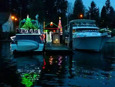 seattle gig harbor lighted boat parade cruise