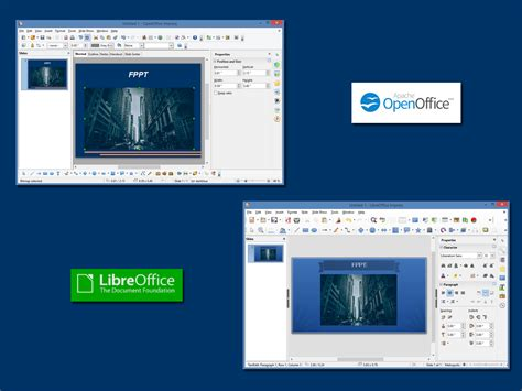 templates for powerpoint open office openoffice vs libreoffice