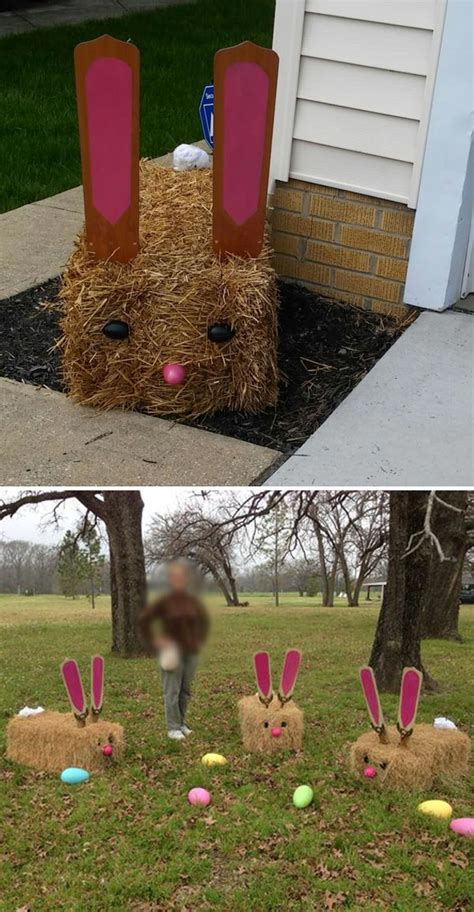 Best Photos Of Easter Yard Top 22 Cutest Diy Easter Decorating Ideas For Front Yard