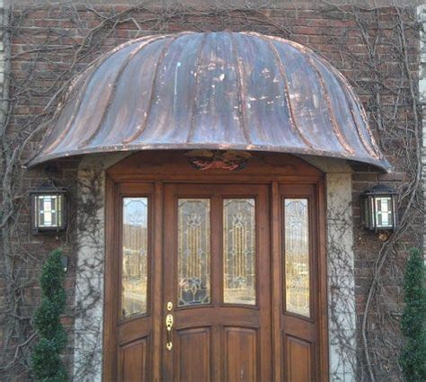 custom made awnings custom made copper awnings by classic copper works