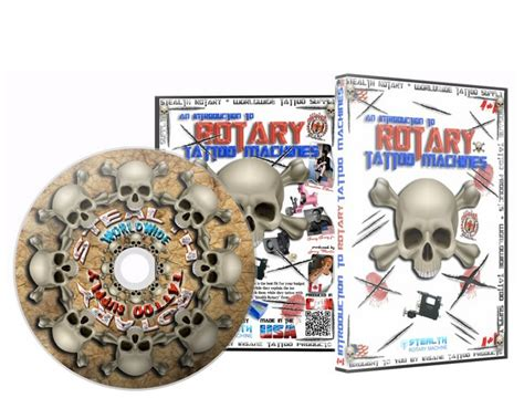 international tattoo supply intro to rotary machine dvd dvds