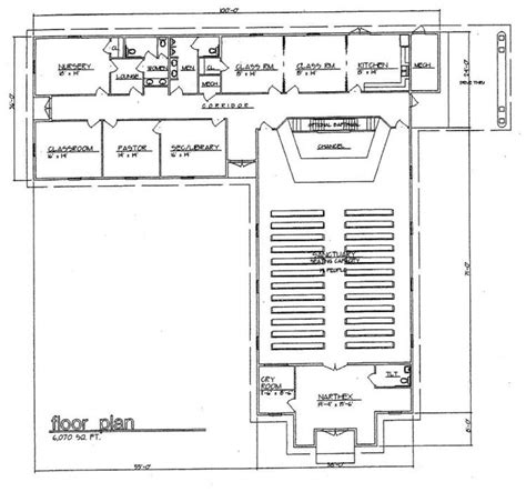 steel church buildings floor plans church plan 125 lth steel structures