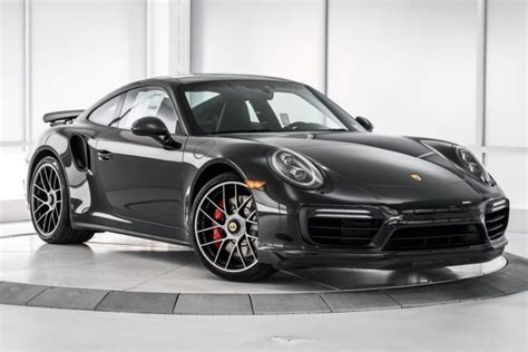 2017 black porsche 911 turbo 2017 porsche 911 turbo for sale