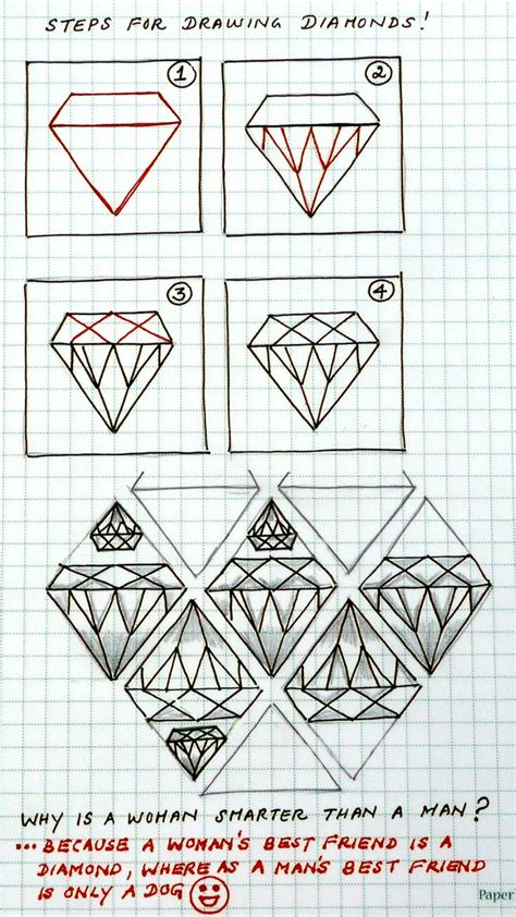 zentangle pattern charts 7 best diamonds images on pinterest diamond drawing