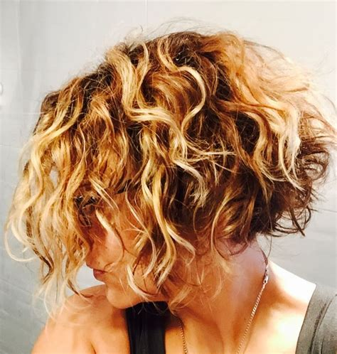 jagged layered bobs with curl image result for curly layered inverted bob hair