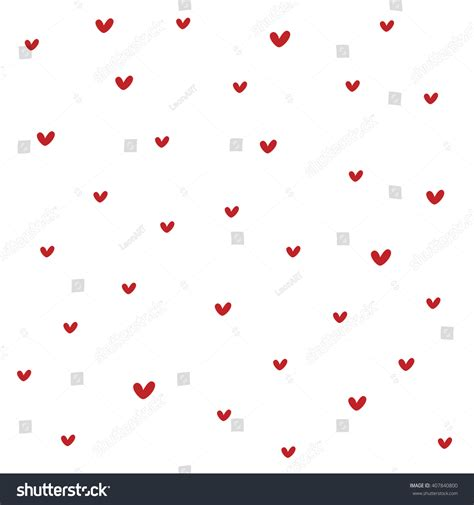 texture heart pattern seamless heart pattern texture paper wrapping stock vector
