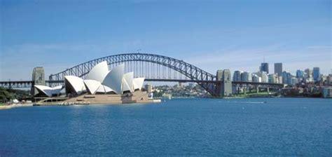 port jackson harbour sydney new south wales australia