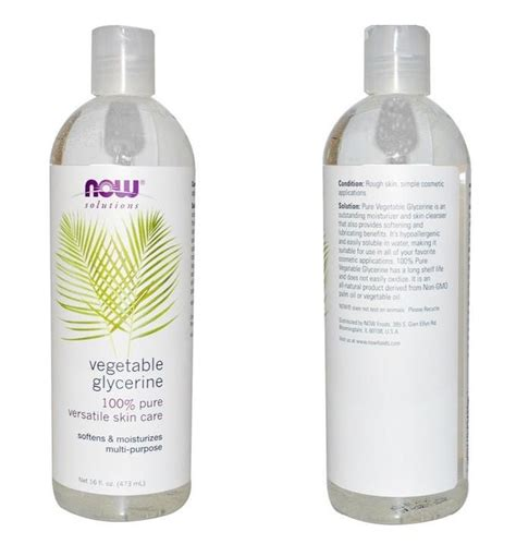 Vegetable Glycerin Shelf by Vegetable Glycerine 100 Multi Purpose 16oz By Now Solutions Free Shipping
