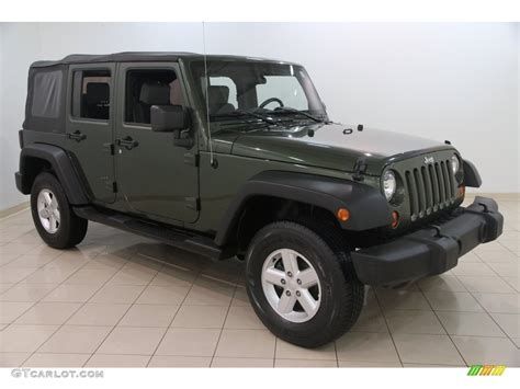 green jeep wrangler unlimited 2007 jeep green metallic jeep wrangler unlimited x 4x4