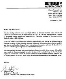 view letter of recommendation format