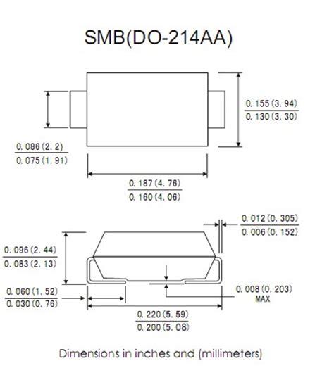 smb diode ss1150