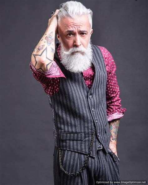 tattooed grandpa alessandro manfredini beard fashionate trends