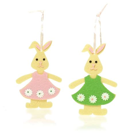 Bunny Decorations by Buy Felt Bunny Decorations