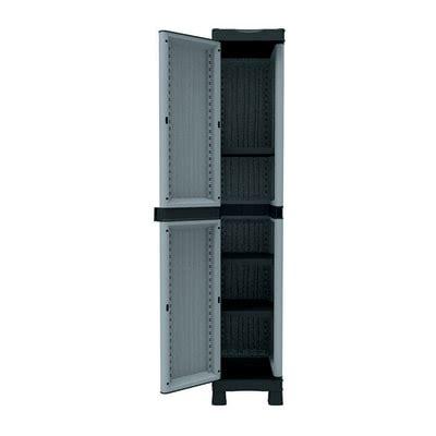 spaceo armadi armadio in resina spaceo l 35 x p 43 8 x h 181 8 prezzi e