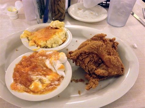 Mac S Tea Room by Mac S Tea Room One Fried Chicken Breast And Two Sides