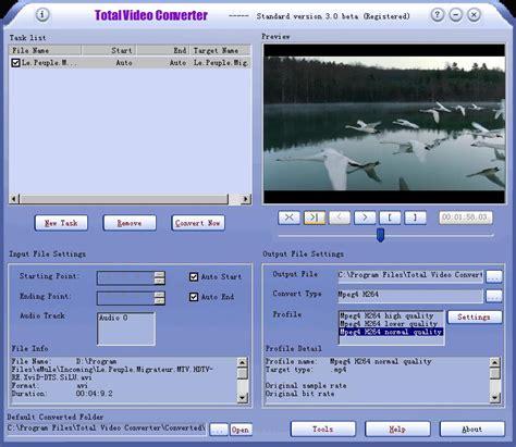 converter software total video converter 3 71 software digital digest