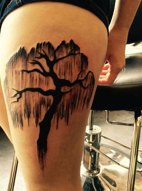 weeping willow tattoo weeping willow designs ideas and meaning tattoos