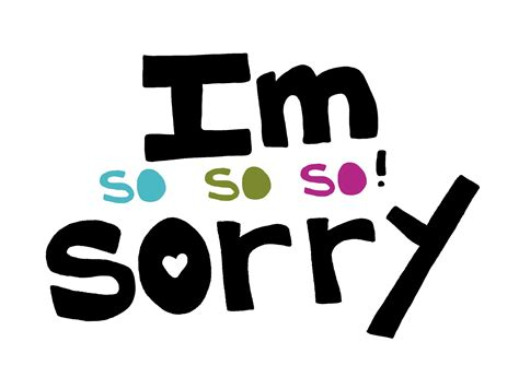 Im Sorry | i m not sorry the wonderful world of books