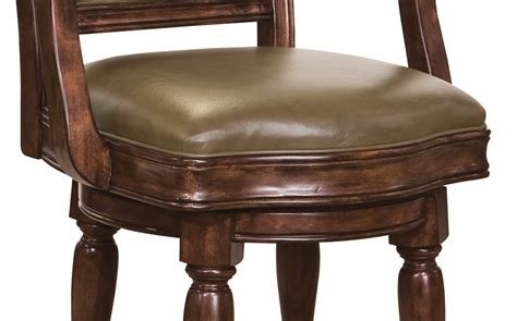 Howard Miller Bar Stools by 697027 Howard Miller Brown Distress Swivel Faux Leather