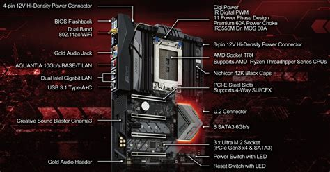 Best Seller Asrock Fatal1ty X399 Professional Gaming Tr4 Amd платы x399 taichi и fatal1ty x399 professional gaming