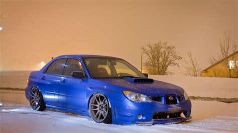 subaru wrx snow snow cars blue stance subaru impreza wrx sti wallpaper