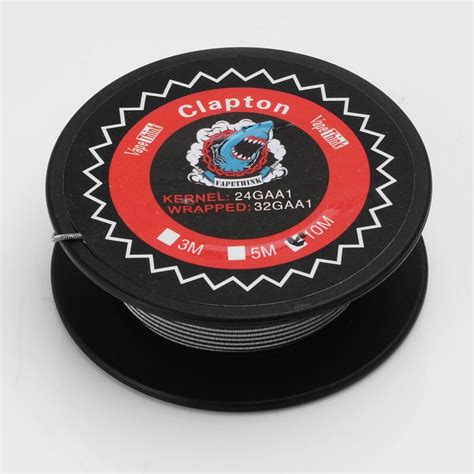 Premium Clapton Kanthal A1 24 32 Ga High Quality Rohs authentic vapethink kanthal a1 clapton 24ga 32ga 10m heating wire