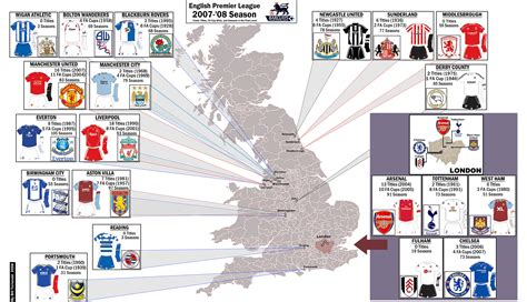 map of premier league teams miss k s lessons february 2008