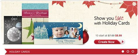 Vistaprint Gift Cards - vistaprint 50 custom photo christmas cards for 12 99 shipped frugal living nw
