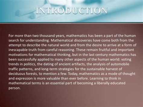 Maths In Daily Essay by Maths In Our Daily