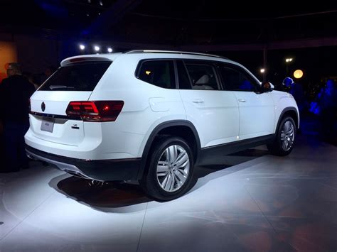 white volkswagen atlas the 2018 atlas is exactly what we expected and that s
