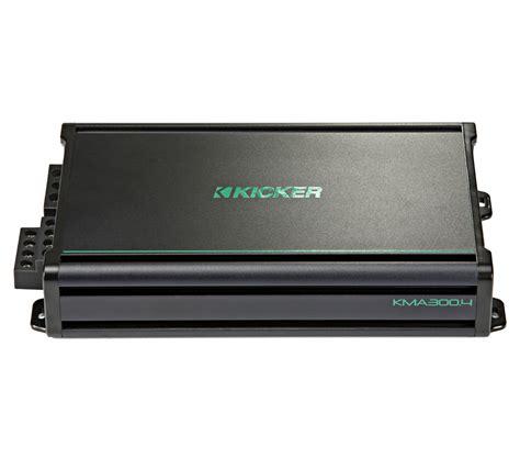 kicker boat kicker 45kma3004 marine audio boat lifier 4 channel 600