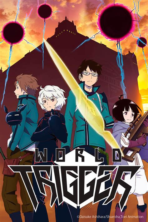 world trigger toei premiers world trigger dub at anime expo projectpioneer