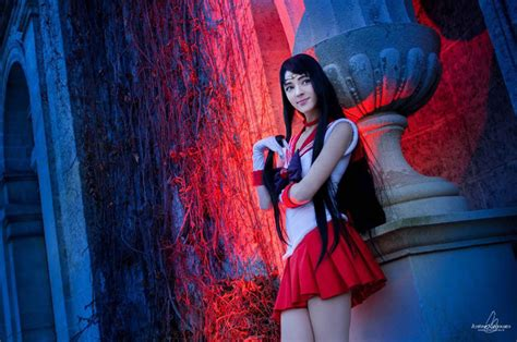Sailor Mars 1 sailor mars sets the alight