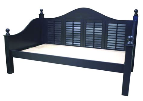 black day bed plantation daybed in seabrook black