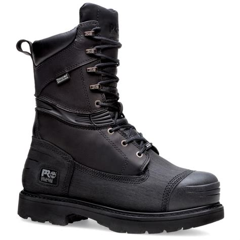 black steel toe boots for s timberland 174 pro 174 10 quot 200 gram thinsulate insulation